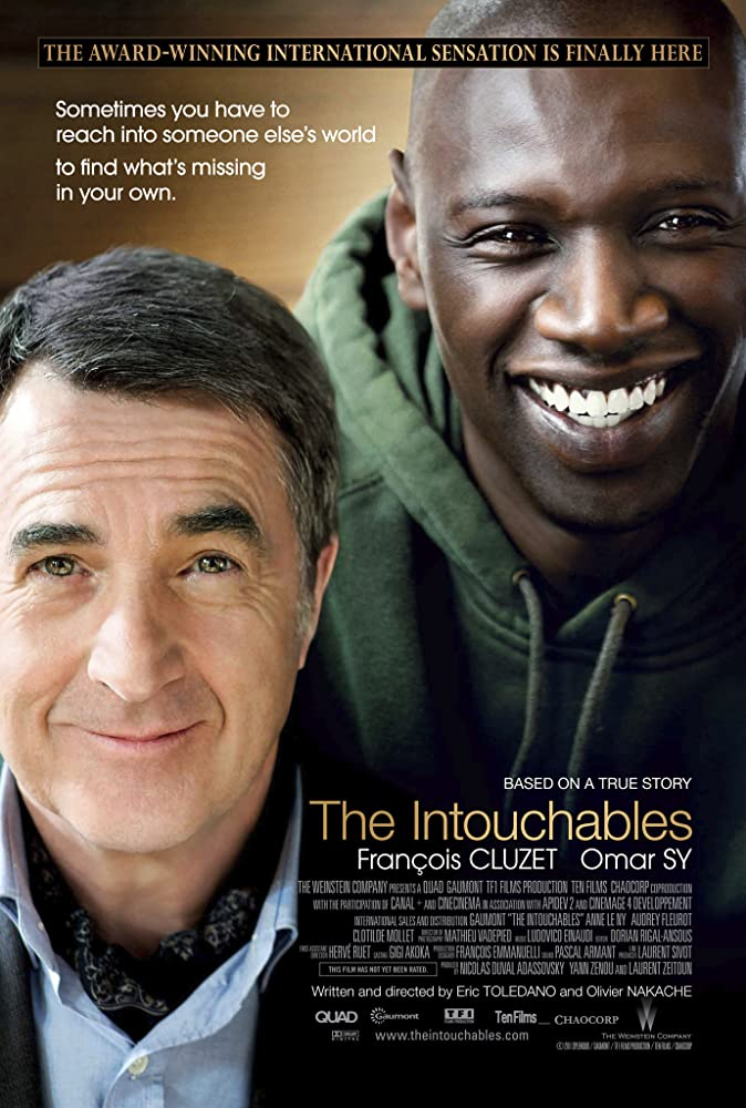 The Intouchables 2011 movie poster