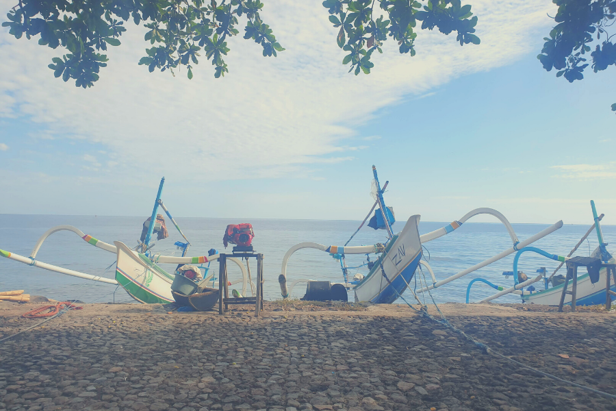 Our short getaway to a remote beach